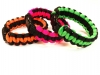Orange, Pink, and Neon Green with Black